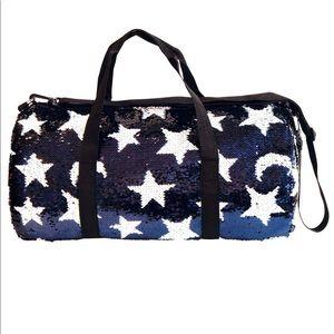 Fashion Angels Duffel Bag Midnite Blue with Stars
